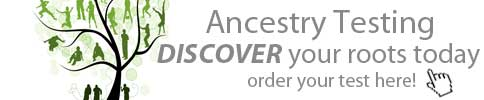 Ancestry DNA test - order your test now!